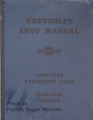 1942-1948 Chevy Car 1942-1946 Truck Shop Manual