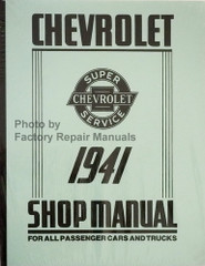 1941 Chevy Car and Truck Shop Manual