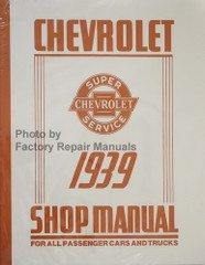 1939 Chevy Car and Truck Shop Manual