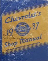 1937 Chevy Car and Truck Shop Manual