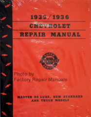1935 1936 Chevy Car and Truck Shop Manual