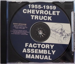 1955-1959 Chevy Truck Assembly Instruction Manual CD