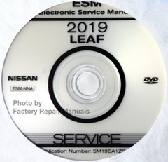 2019 Nissan LEAF Electronic Service Manual CD