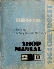 1984 Chevrolet Chevette Shop Manual