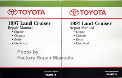 Toyota 1997 Land Cruiser Repair Manual Engine Chassis Body Electrical
