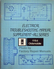 1984 Oldsmobile All Models Electrical Troubleshooting Manual Supplement