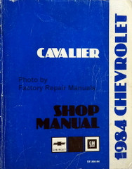 1984 Chevrolet Cavalier Shop Manual