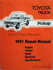 1981 Toyota Pickup Truck Repair Manual
