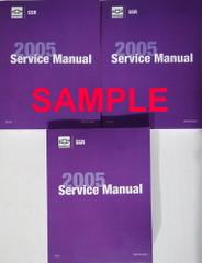 2006 Chevrolet SSR Service Manual Volume 1, 2, 3