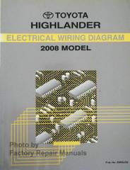 2008 Toyota Highlander Wiring Diagrams