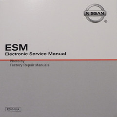 2020 Nissan Frontier ESM Electronic Service Manual CD
