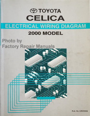 2000 Toyota Celica Electrical Wiring Diagrams