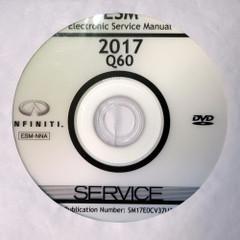 2017 Infiniti Q60 Electronic Service Information Manual