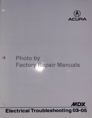 2003-2005 Acura MDX Electrical Troubleshooting Manual
