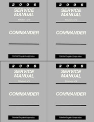 2006 Jeep Commander Service Manual Set