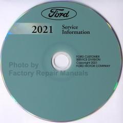 2021 Ford Bronco Sport Service Information