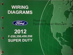 Wiring Diagrams Ford 2012 F250 F350 F450 F550 Super Duty