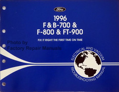 1996 Ford F B 700 800 900 Truck Electrical & Vacuum Troubleshooting Manual