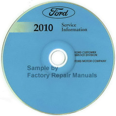 Ford 2010 F-150 Service Information CD