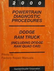 2000 Dodge Ram Truck Powertrain Diagnostic Procedures Manual
