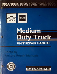 1996 Chevy Kodiak GMC Topkick P6 B7 Bus Unit Repair Manual