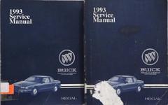 1993 Buick Regal Service Manual Volume 1, 2