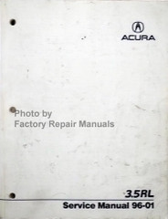 1996-2001 Acura 3.5RL Factory Service Manual