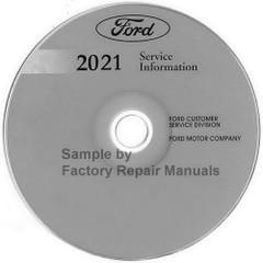 2021 Ford Escape Service Information