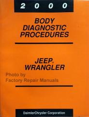 2000 Jeep Wrangler Body Diagnostic Procedures