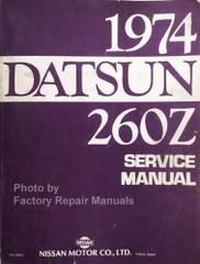 1974 Datsun 260Z Service Manual