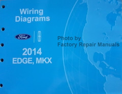 2014 Ford Edge, Lincoln MKX Electrical Wiring Diagrams