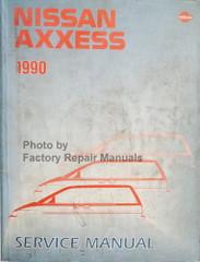 1990 Nissan Axxess Service Manual