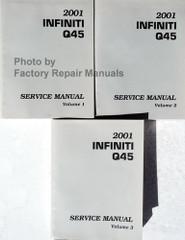 2001 Infiniti Q45 Service Manual Volume 1, 2, 3