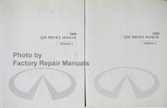 1999 Infiniti Q45 Service Manual Volume 1, 2