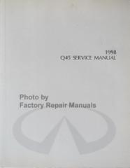 1998 Infiniti Q45 Service Manual