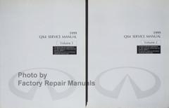 1999 Infiniti QX4 Service Manual Volume 1, 2