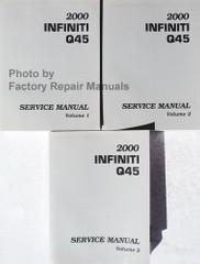 2000 Infiniti QX4 Service Manual Volume 1, 2, 3