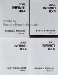 2001 Infiniti QX4 Service Manual Volume 1, 2, 3, 4