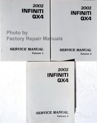 2002 Infiniti QX4 Service Manual Volume 1, 2, 3