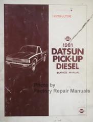 1981 Datsun Pick-up Diesel Service Manual