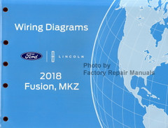 2018 Ford Fusion Lincoln MKZ Wiring Diagrams