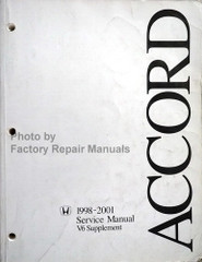 1998-2001 Honda Accord Service Manual V6 Supplement