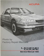 1990 Acura Legend Coupe Service Manual