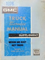 1976 GMC 4500-9502 Factory Service Manual Service Manual Supplement