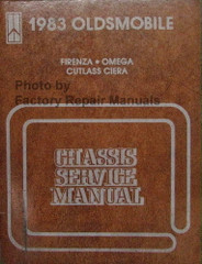 1983 Olds Cutlass Ciera V6 Engine Service Repair Manual Supplement