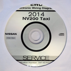 2014 Nissan NV200 Taxi Electrical Wiring Diagrams