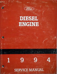1994 Ford 1060 and 1460 Diesel Engine Service Manual Supplement