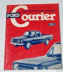 1980 Ford Courier Pickup Shop Manual