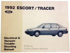 1992 Ford Escort and Mercury Tracer Electrical Vacuum & Troubleshooting Manual
