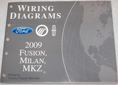 2009 Ford Fusion, Mercury Milan and Lincoln MKZ Electrical Wiring Diagrams